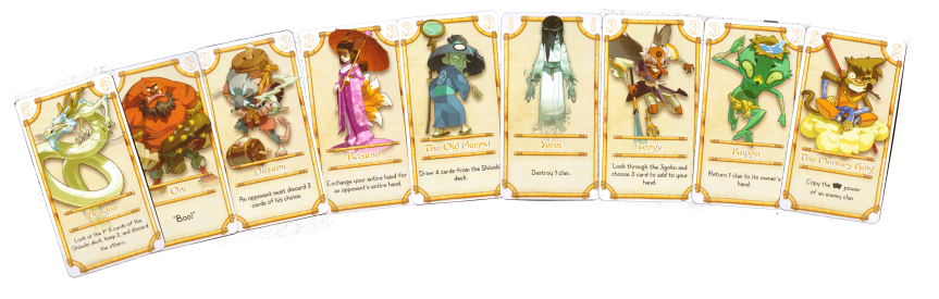 The Yokai Cards