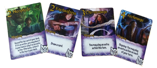 Exemplar Minion Cards (Wizards)