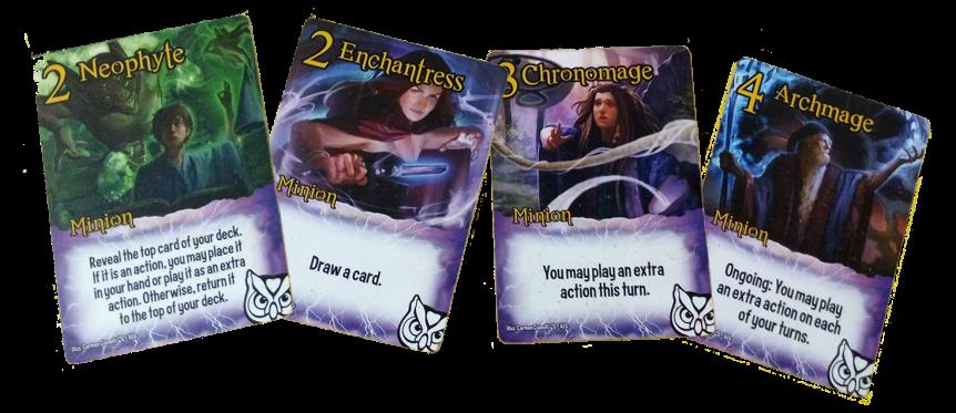Exemplar Minion Cards (Wizards)