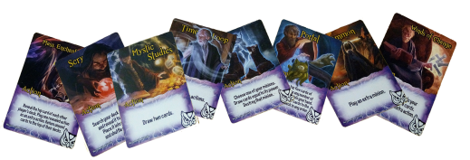 Exemplar Action Cards (Wizards)