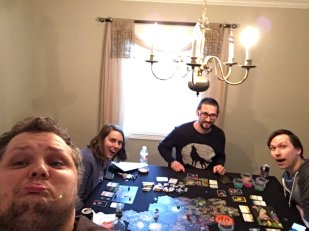 PegHead Kenneth Spond and a motley crew exploring the universe while playing Xia