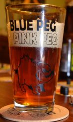 Note: Actual pint glass may differ slightly from photographic representation.
