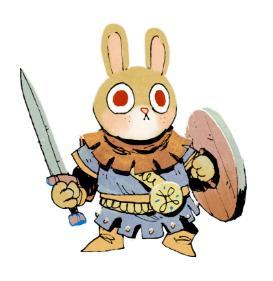 Root Character Concept Bunny