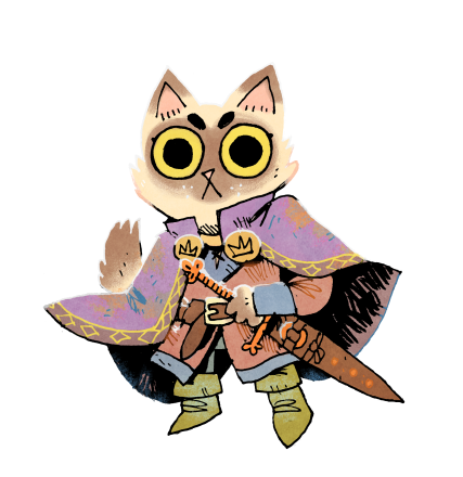 Root Character Concept Cat