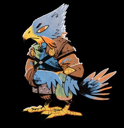 Root Character Concept Hawk